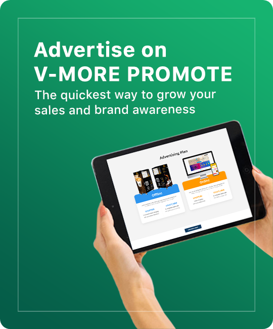 Advertise on V-MORE Promote