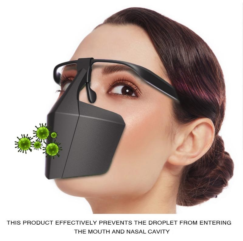 Reusable Safety Face Shield (Against Droplets, Anti-Fog Isolation Face Shield) *Note: does not ship to Vietnam