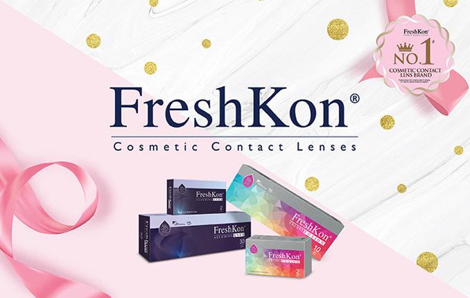 $50 FreshKon Cosmetic Contact Lenses