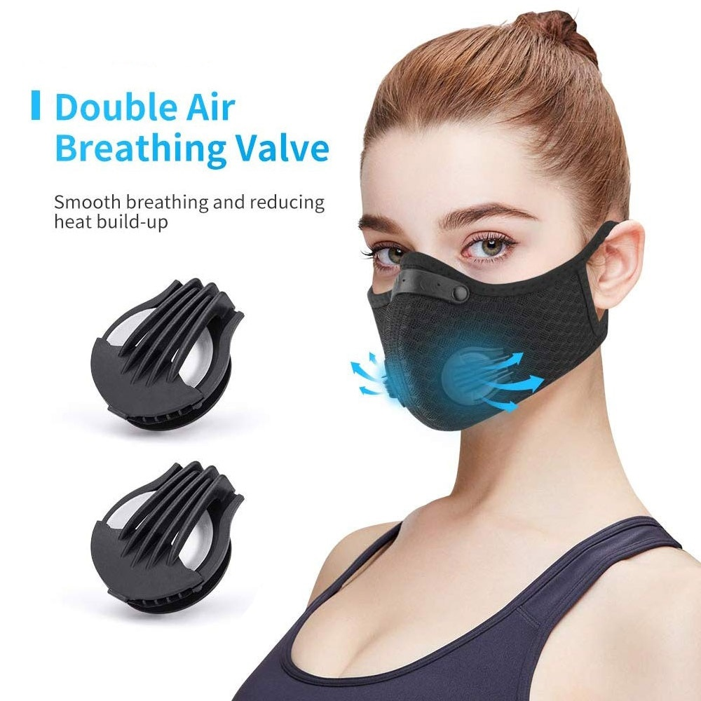Activated Carbon Filter Mask with Respirator *Note: does not ship to Vietnam