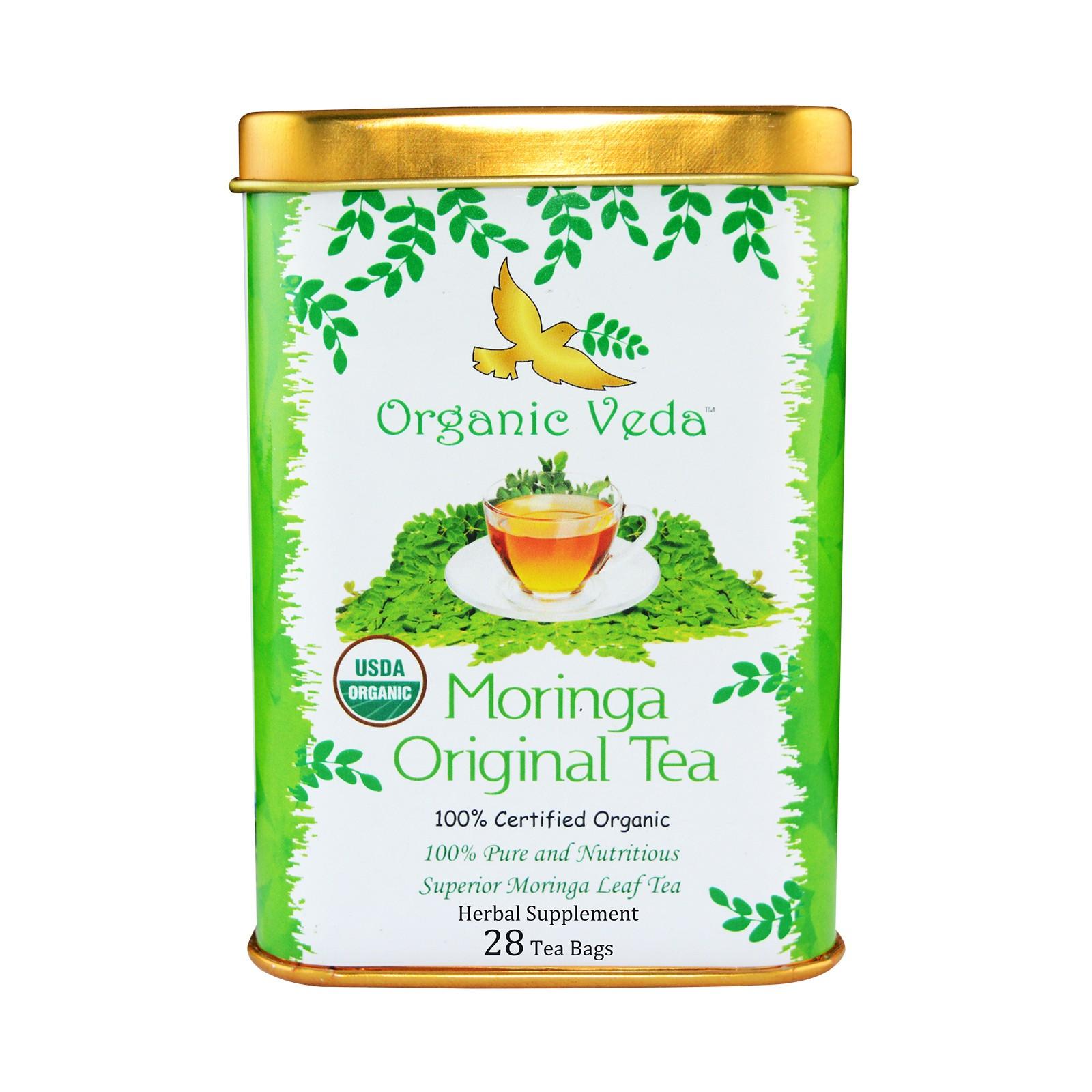Organic Veda Moringa Original Tea Bags