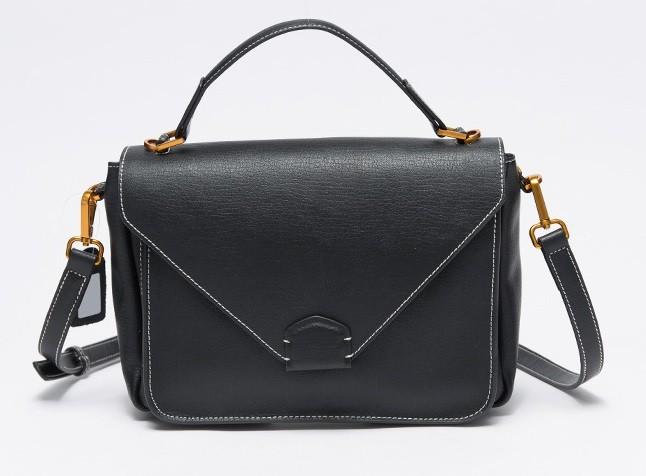 Professional OL Genuine Cowhide Leather Handbag