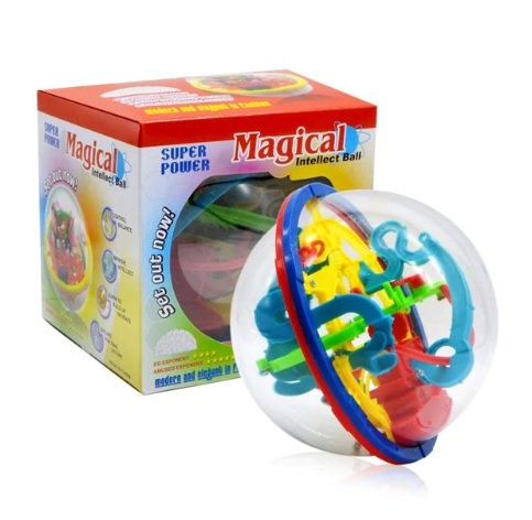 100 Steps 3D Magic Intellect Puzzle Ball Toy