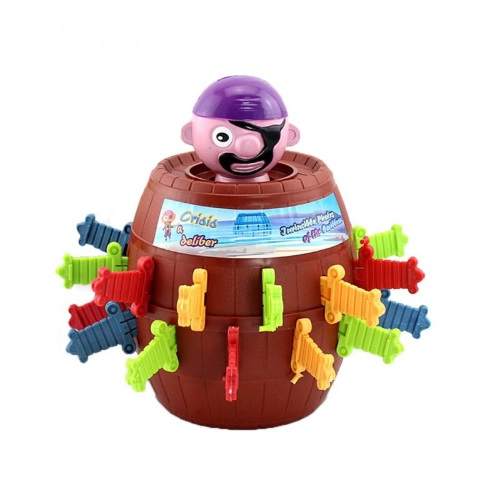 Stab The Pirate Barrel Pop Up Toy Game