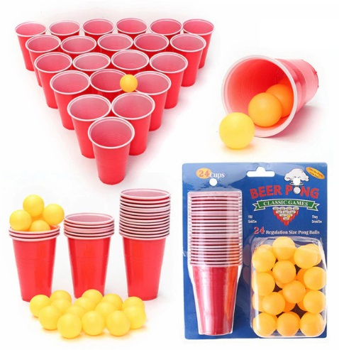 Beer Pong Party Drinking Game