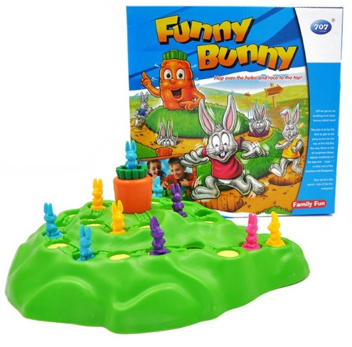 Rabbit Cross Country Family Party Game