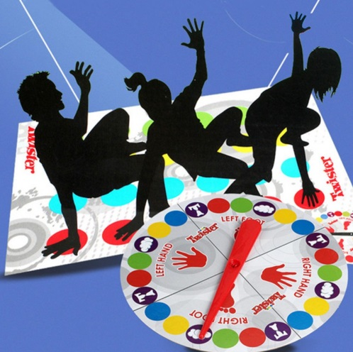 Twister Party Board Game