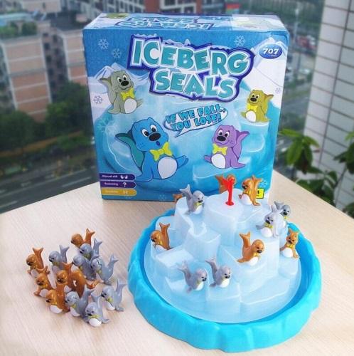 Penguin Iceberg Balancing Toy