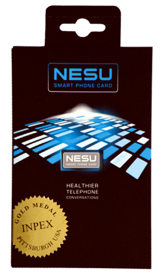 NESU Smart Phone Card - Mobile Radiation Protection