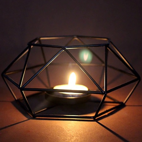 Nordic Minimalist Style Candle Holder